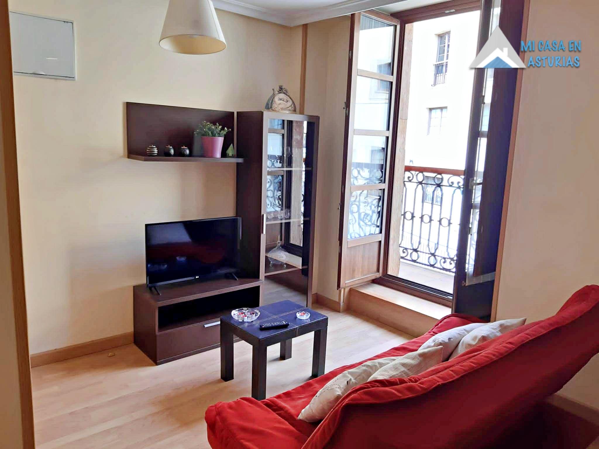 Alquiler De Coqueto Apartamento Con Plaza De Garaje. Zona Santo Domingo. Oviedo.