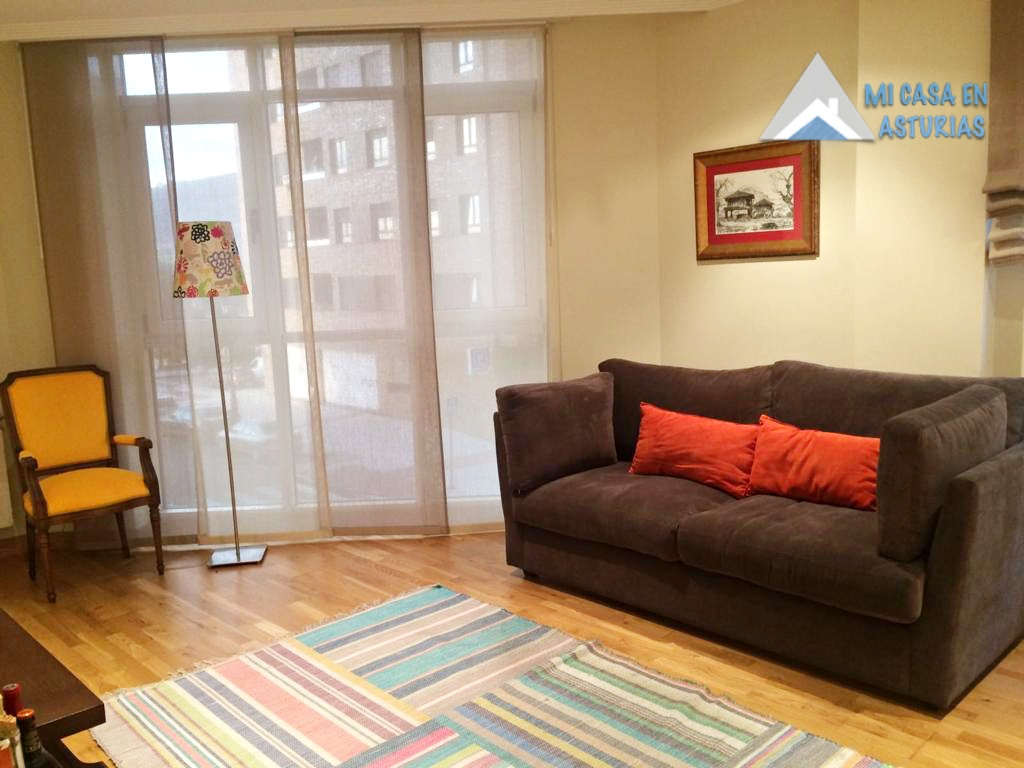 Venta de precioso piso moderno  y amueblado en la Zona de la Ería, Oviedo.