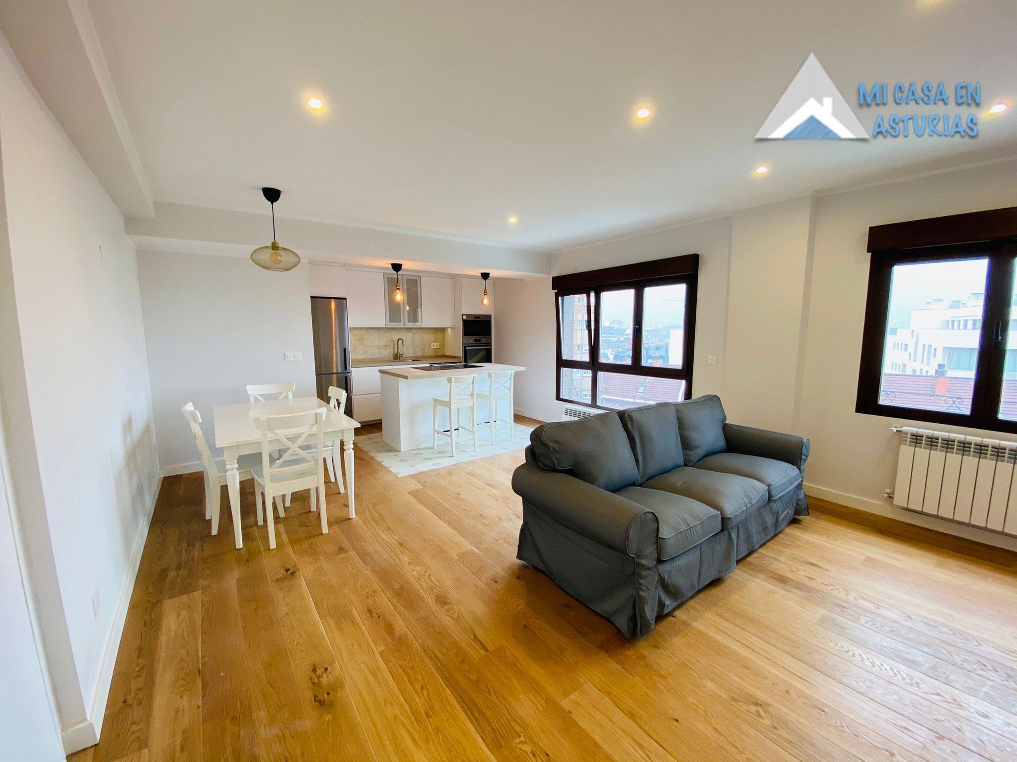Espectacular piso en alquiler amueblado, Zona Postigo-Centro. Oviedo.